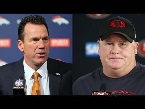 Gary Kubiak RETIRES from Denver Broncos! San Francisco 49ers fire Chip Kelly and Trent Baalke!