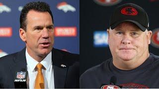 Gary Kubiak RETIRES from Denver Broncos! San Francisco 49ers fire Chip Kelly and Trent Baalke!