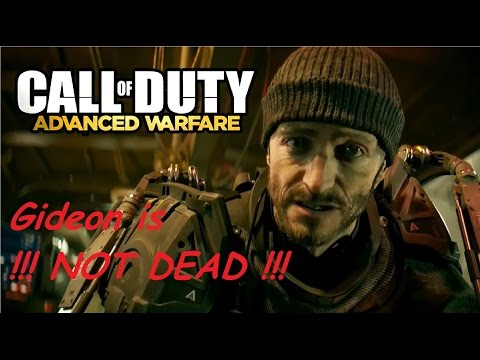 Advanced Warfare: Gideon is not dead