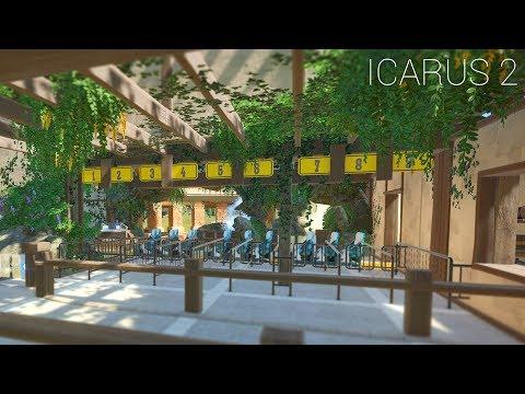 "Planet Coaster - Icarus [PART 2] ""Passenger Loading & Station Building"""