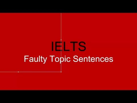logos topic sentences