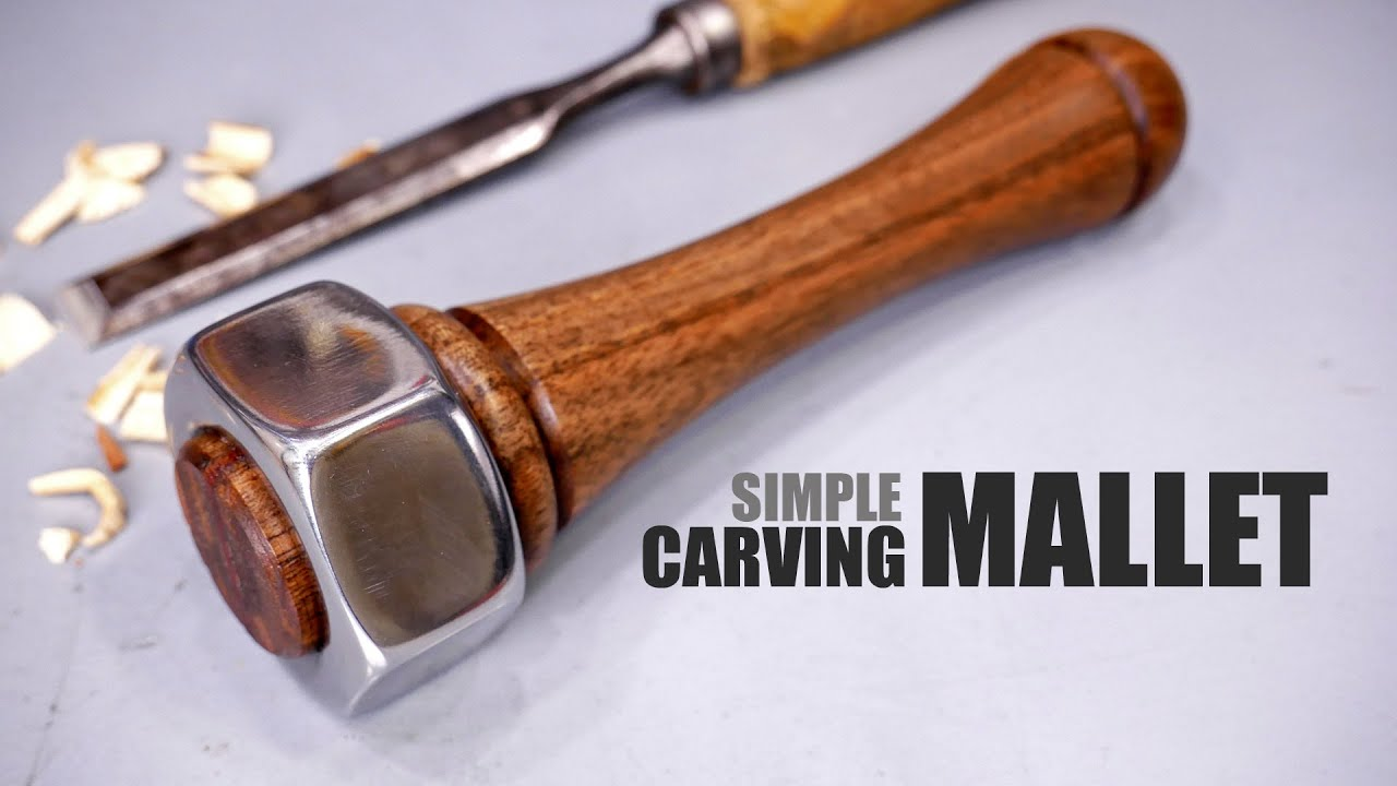 Making A Simple Mallet - Lathe Turning Project