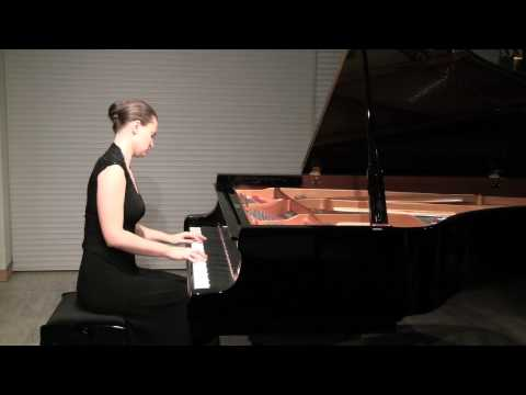 Anna Shelest plays Beethoven 6 Variations on an Original Theme in F major, Op. 34 part 2/2