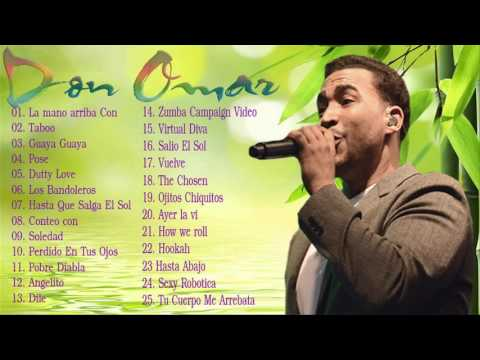 Don Omar Grandes Exitos Mix Musica Romantica 2016 - Románticas - Exitos MIX