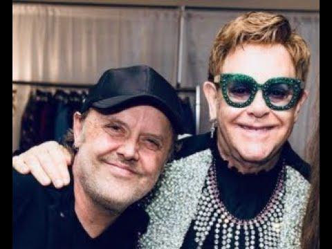 "Elton John has recorded something with METALLICA .. ""I've just done something with METALLICA,"""