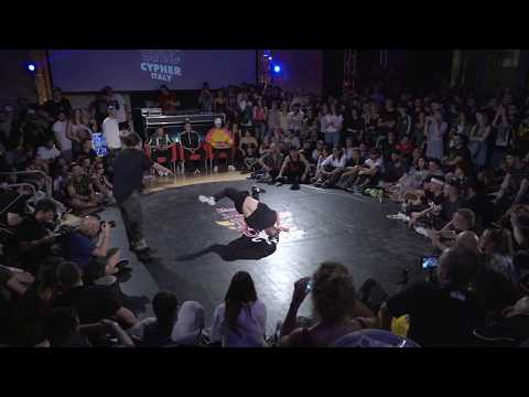 Red Bull BC One Cypher Italy 2018 | Final: Mowgly vs. Movy Cube