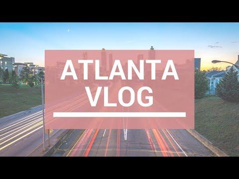 Travel Vlog Atlanta: Hotel Room Tour, Baseball Game, Aquarium, & More