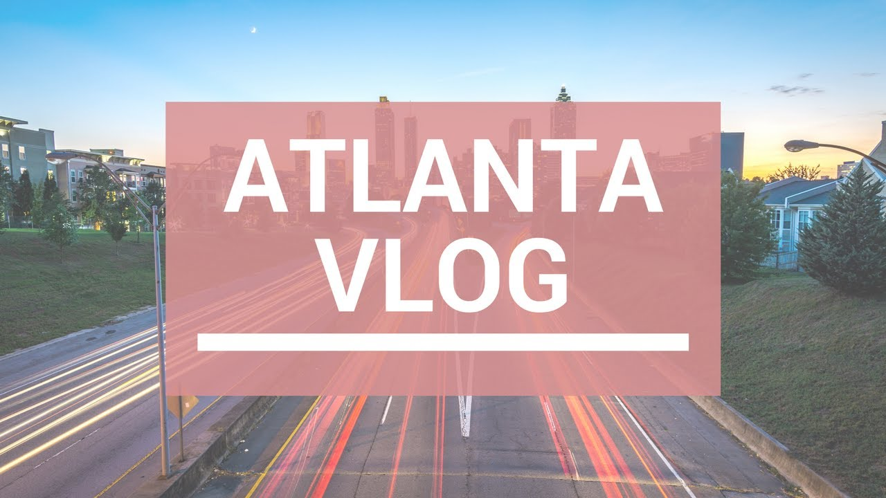 Travel Vlog Atlanta Hotel Room Tour Baseball Game Aquarium More
