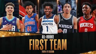 The Best Of The 2020-21 All-Rookie First Team!