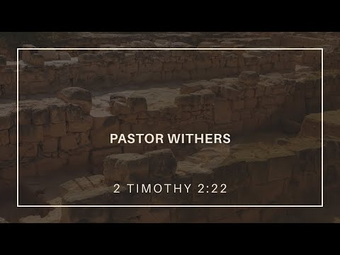 Pastor Withers (1/3/2021)