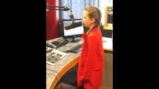 Amira Willighagen - O Mio Babbino Caro on South African Radio - 2014