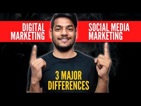 [New 2020] Digital Marketing Vs Social Media Marketing