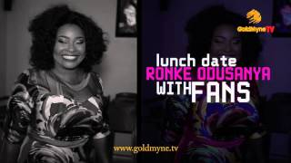 RONKE ODUSANYA quotLUNCH DATEquot WITH FANS