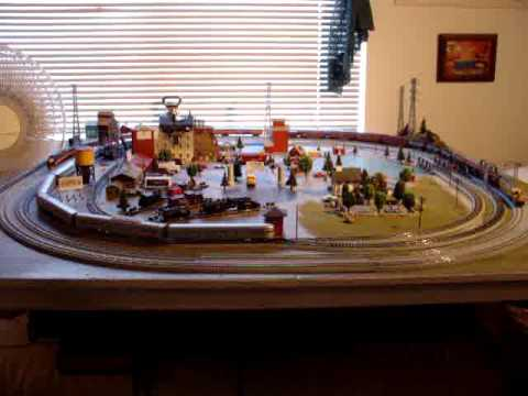 Bruce's N Scale 3 trains and transformers
