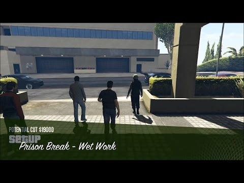 GTA Online Heists - Prison Break - Wet Work