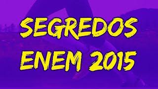 ENEM 2015 Resultado | Curso Segredos do ENEM 2015 | ENEM 2015 Gabarito