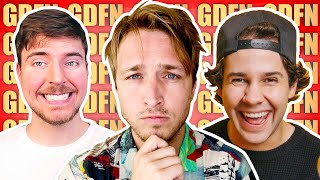 David Dobrik Shoots a Fan's Eye Out, Mr. Beast Hates Us, and Some Good News | GDFN