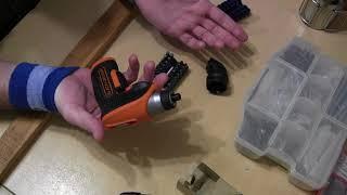 Викрутка акумуляторна Black & Decker CS3652LC - XK