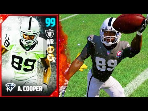 99 OVERALL AMARI COOPER! DOMINANT OFFENSEIVE POSITION HEROES! - Madden 17 Ultimate Team