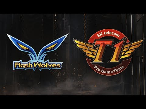 FW vs SKT | Group Stage Day 4 | 2019 Mid-Season Invitational | Flash Wolves vs. SK telecom T1