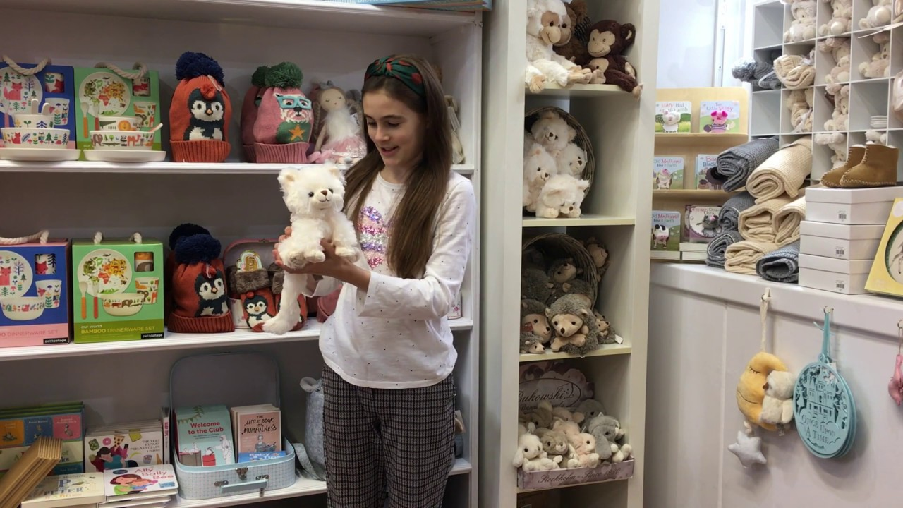 Bukowski soft toy cat Guccio review by Lily at the Old School Beauly