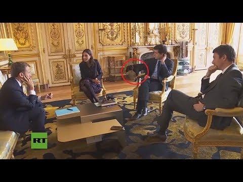 El perro de Macron