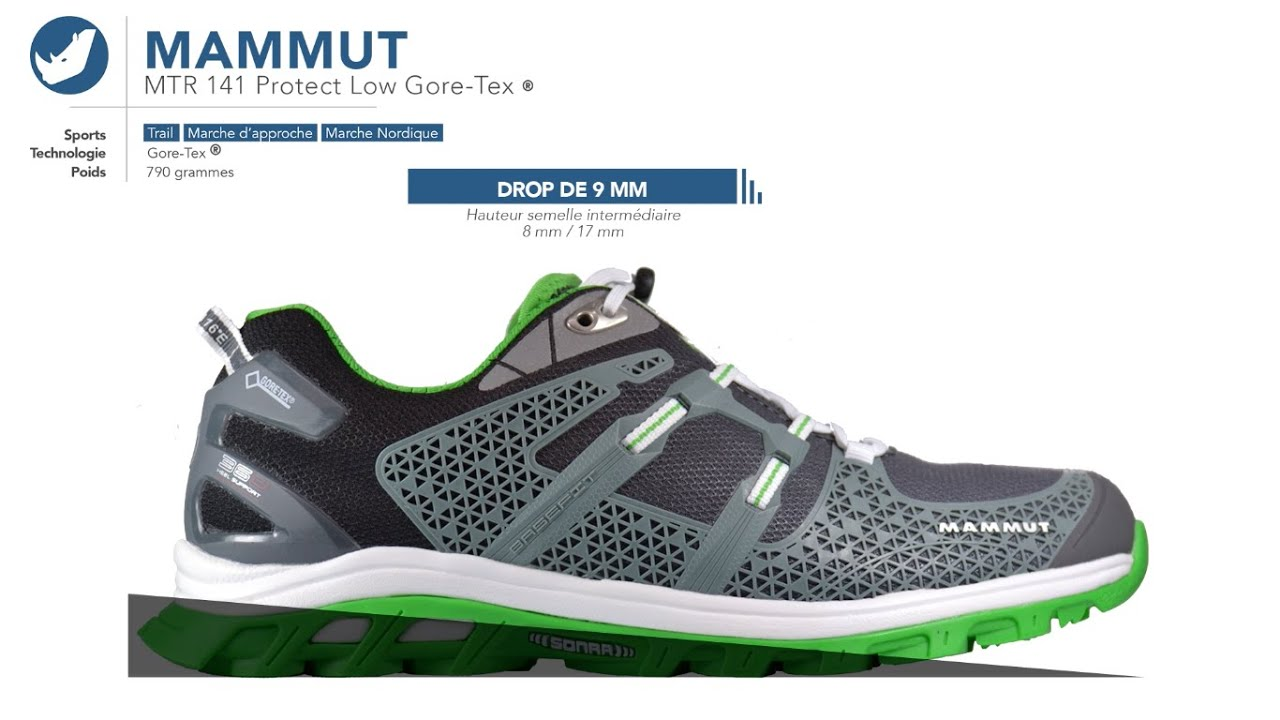 Chaussures de trail | Mammut - MTR 141 Protect Low Gore Tex ® | Homme