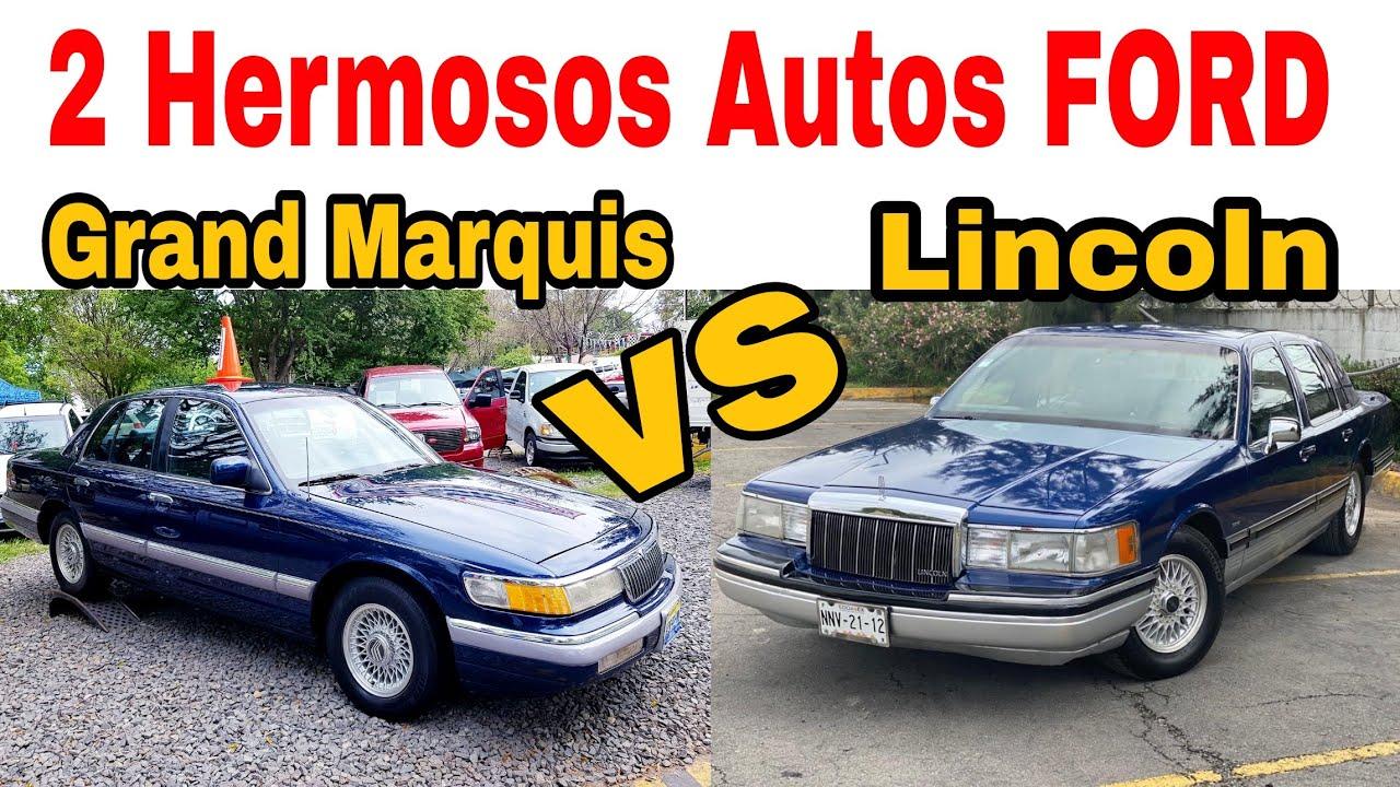 FORD GRAND MARQUIS Y LINCOLN coches en venta de lujo Tianguis de autos usados mercado libre