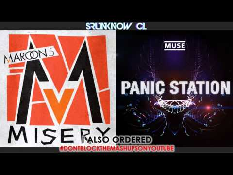 Maroon 5 vs. Muse - Misery Station Mashup