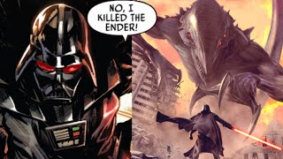 When an Ender Dragon Kicked Darth Vader's Behind(Canon) - Star Wars Comics Explained