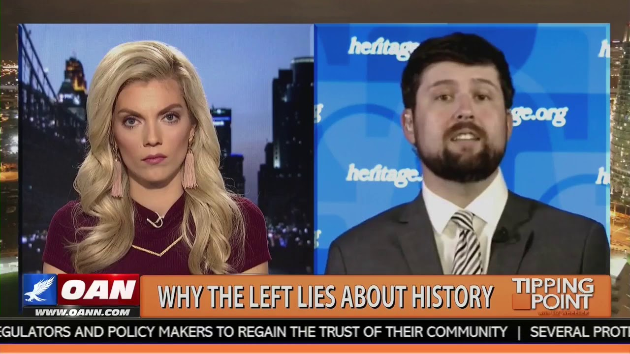 Jarrett Stepman Takes On The Left's War On History