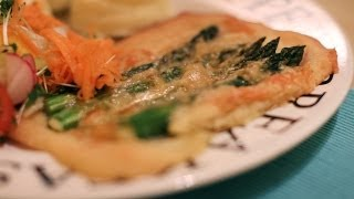 Gluten Free Asparagus and Gruyere Cheese Tart