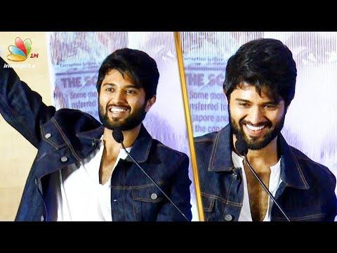Naan Vanthutu Irukaen : Vijay Devarakonda Mass Speech | Nota Movie Press Meet