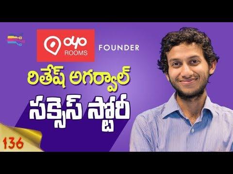 Startup Success Stories in telugu | Story of Ritesh Agarwal, CEO of OYO Rooms in telugu - 136