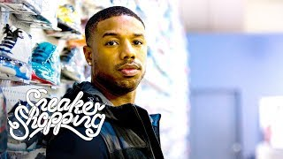 Michael B. Jordan Goes Sneaker Shopping With Complex by : Complex