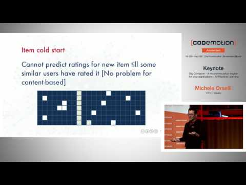A recommendation engine for your applications - Michele Orselli- Codemotion Amsterdam 2017