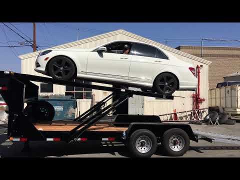 2 Car Staker Trailer