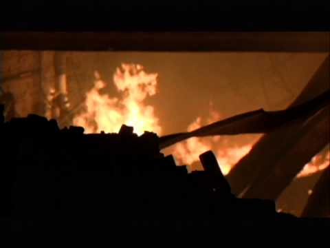 Former American Of Martinsville Plant Burns