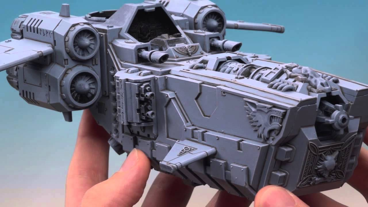 Warhammer 40k Space Wolves Stormfang Gunship