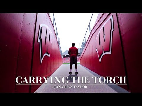 Wisconsin Sports - Carrying The Torch: Jonathan Taylor latest great Wisconsin back from Jersey