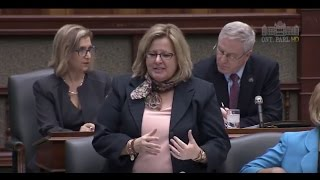 MPP Thompson Debates Bill 96, the Anti-Human Trafficking Act