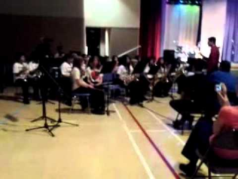 Raymond cree middle school band
