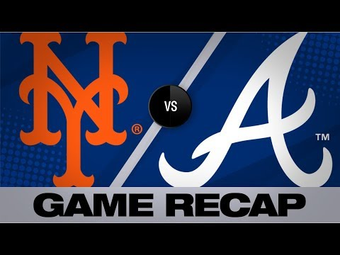 5-run 7th inning leads Braves | Mets-Braves Game Highlights 8/14/19