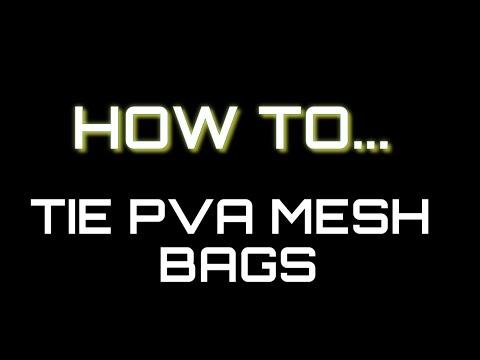 How To Tie PVA Mesh Bags - Carp Fishing