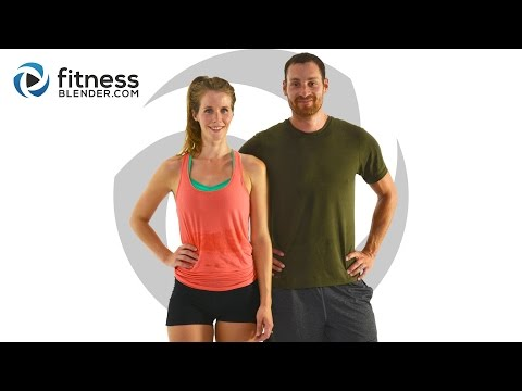 Intense Fat Burning Cardio Butt and Thigh Workout - Advanced & Low Impact Modifications