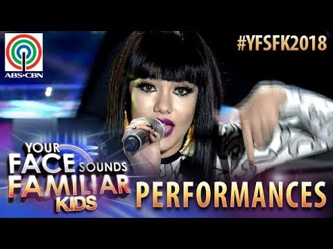 Your Face Sounds Familiar Kids 2018: Krystal Brimner as Jessie J | Domino