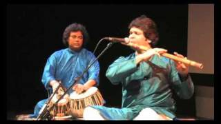 Rakesh Chaurasia - Flute, Kousic Sen - Tabla, Raag Mishra Bhairavi
