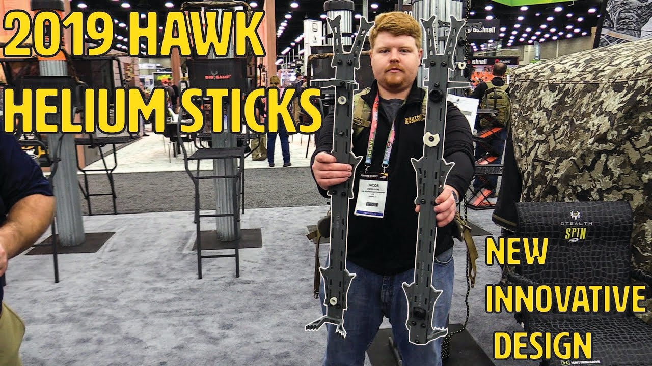 Hawk HWK-HC2086-3 Helium 3pk Climbing Sticks hwkhc20863