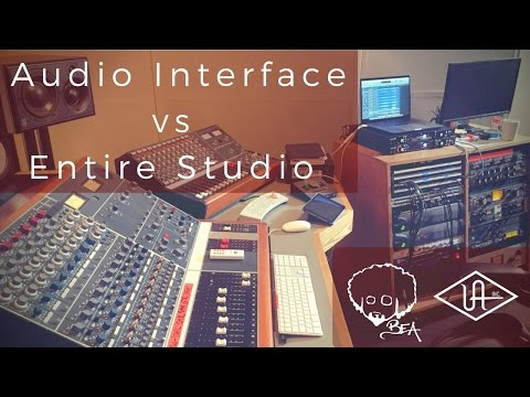 Audio Interface vs Entire Studio