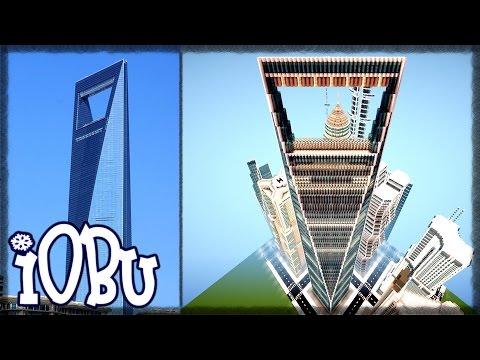 SHANGHAI FINANCIAL CENTER & 3 MORE! Skyscraper City - Ep 10 - Minecraft Timelapse w/ Download